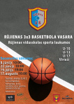 3x3 basketbola vasara